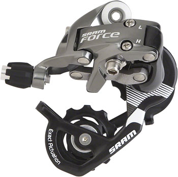 SRAM Force Rear Derailleur - 10 Speed, Short Cage, Black