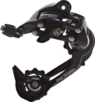 SRAM Apex WiFli Rear Derailleur - 10 Speed, Medium Cage, Black