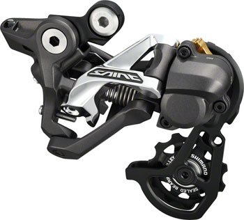 Shimano Saint RD-M820-SS1 Rear Derailleur - 10 Speed, Short Cage, Black