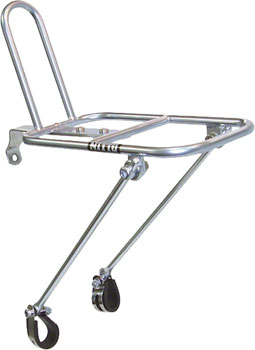 Nitto M18 Front Rack Mount Bicycle Rack: Silver
