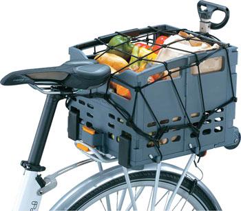 Topeak Trolley Tote Basket Cargo Net