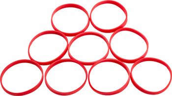 RockShox Bottomless Ring Kit for Monarch / Vivid Air, Includes Volume Adjust Rings, Qty 9