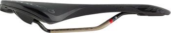 Prologo Zero II PAS Cut Out Saddle, 134mm wide, Ti-Rox alloy rails: Hard Black