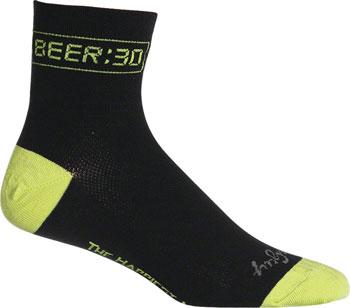 SockGuy Classic Beer:30 Sock: Black SM/MD