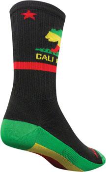 SockGuy SGX Rasta Cali Sock: SM/MD