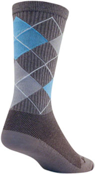 SockGuy Crew Stay Classy Sock: Gray SM/MD