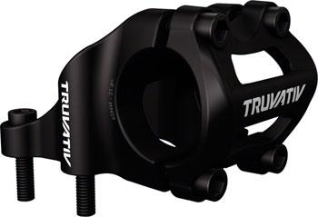 TruVativ Holzfeller Stem 4-bolt Direct Mount +/- 0 degree 50mm 0 Rise 31.8 Black
