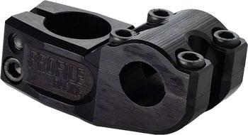 Profile Racing Mulville Push Stem +/- 0 degree, 53mm Black
