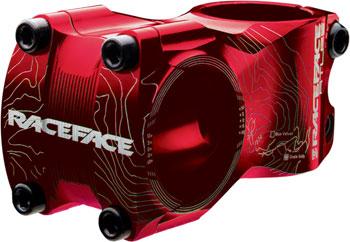 RaceFace Atlas Stem, 50mm +/- 0 degree Red