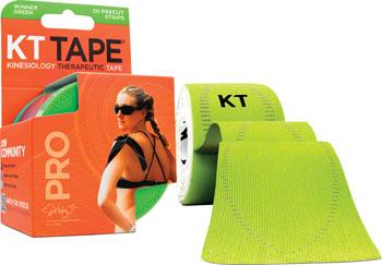 KT Tape Pro Kinesiology Therapeutic Body Tape: Roll of 20 Strips, Winner Green