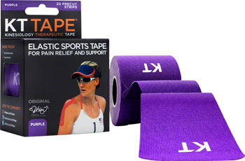 KT Tape Kinesiology Therapeutic Body Tape: Roll of 20 Strips, Purple