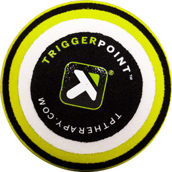 TriggerPoint MB1 Massage Ball: 2.6 Diameter, Green/Black/White