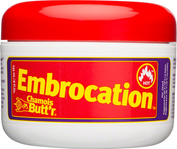 Chamois Butt'r Hot Embrocation: 8oz Jar