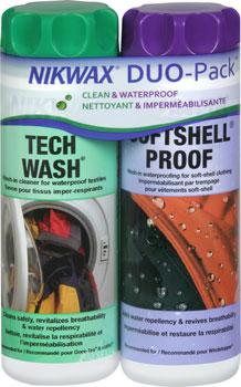 Nikwax Tech Wash/Softshell Proof DUO Pack