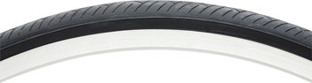 Vee Rubber Smooth Tire - 700 x 28, Clincher, Steel, Black, 27tpi