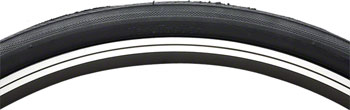 Vee Rubber Smooth Tire - 700 x 35, Clincher, Steel, Black, 27tpi