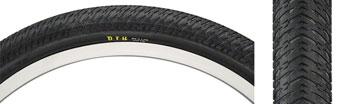 Maxxis DTH Tire 20 x 2.20, Folding, 120tpi, Dual Compound, SilkWorm, Black
