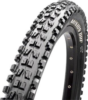 Maxxis Minion DHF Tire 26 x 2.50, Folding, 60tpi, Single Compound, EXO, Black