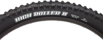 Maxxis High Roller II Tire 26 x 2.40, Folding, 60tpi, Single Compound, EXO, Black