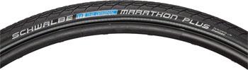 Schwalbe Marathon Plus Tire 700 x 32, Wire Bead, Performance Line, Endurance  Compound, SmartGuard, Black/Reflect