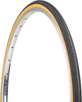 Kenda Street K35 Tire - 27 x 1-1/4, Clincher, Steel, Black/Tan, 22tpi
