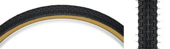 Kenda Street K52 Tire - 24 x 1.75, Clincher, Steel, Black/Tan, 22tpi