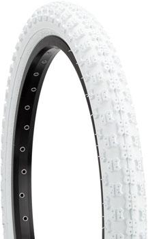 Kenda K50 Tire - 20 x 2.125, Clincher, Steel, White, 22tpi