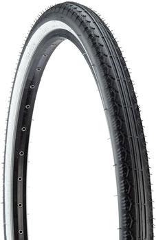 Kenda Cruiser K130 Tire - 26 x 2.125, Clincher, Steel, Black/White, 22tpi
