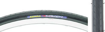 Kenda Koncept Tire - 650c x 23, Clincher, Steel, Black, 60tpi
