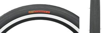 Primo Comet Recumbent Tire - 16 x 1 3/8, Clincher, Steel, Black