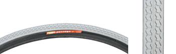 Primo Wheelchair Tire - 26 x 1, Clincher, Steel, Gray