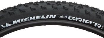Michelin Wild Grip'r 2 Tire - 29 x 2.1, Clincher, Folding, Black