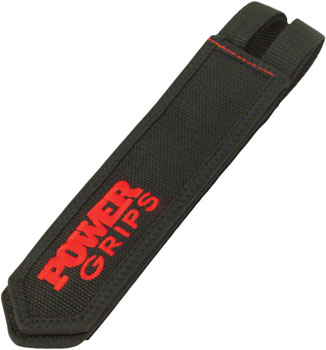 Power Grips Fat Straps Black/Red