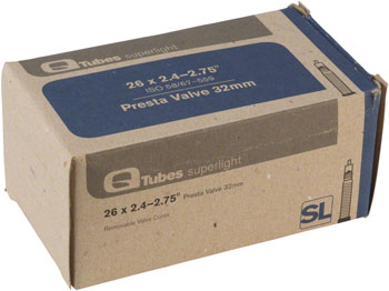 Q-Tubes Superlight 26 x  2.4-2.7 32 mm Presta Valve Tube