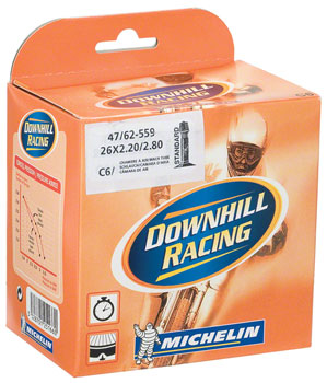 Michelin AirComp DH Tube, 26x2.2-2.8 Schrader Valve