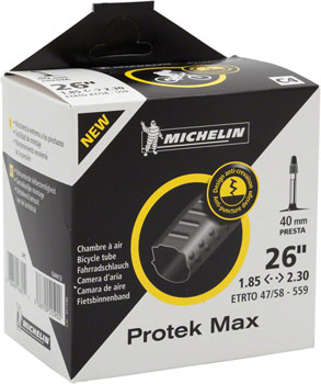 Michelin Protek Max Tube, 26x1.85-2.30 40mm Presta Valve