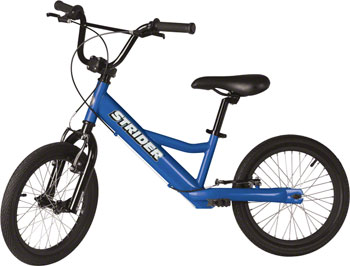 Strider 16 Sport Balance Bike: Blue