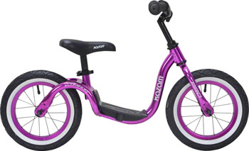 KaZAM Pro Aluminum Balance Bike: Brilliant Purple