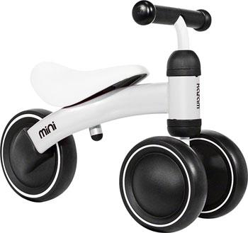 KaZam Mini Ride-On Trike: White