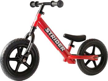 Strider 12 Classic Kids Balance Bike: Red