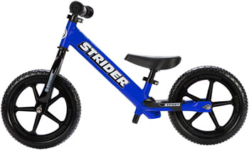 Strider 12 Sport Kids Balance Bike: Blue