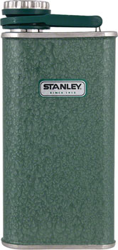 Stanley Classic Flask: Hammertone Green, 8oz