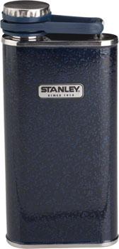 Stanley Classic Flask: Hammertone Navy, 8oz