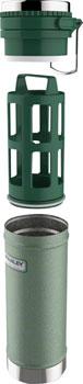 Stanley Classic Vacuum Travel Press: Hammertone Green, 16oz