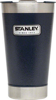 Stanley Classic Vacuum Pint Glass: Hammertone Navy, 16oz