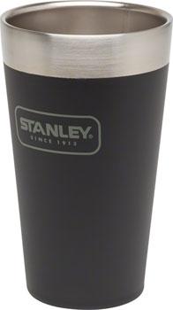 Stanley Adventure Stacking Vacuum Pint Glass: Matte Black, 16oz