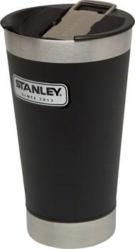 Stanley Classic Vacuum Pint Glass: Matte Black, 16oz