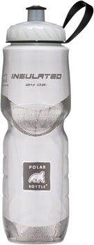 Polar Insulated Water Bottle: 24oz, White