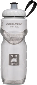 Polar Insulated Water Bottle: 20oz, White
