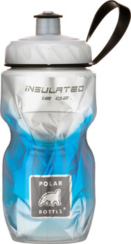 Polar Insulated Water Bottle: 12oz, BlueFade